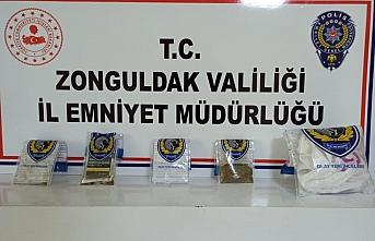 Zonguldak'ta uyuşturucu operasyonunda 3 tutuklama