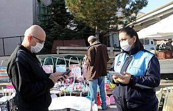 Amasya'da semt pazarlarında HES kodu uygulaması başladı
