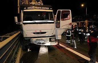 Anadolu Otoyolu'nda zincirleme trafik kazası: 9 yaralı