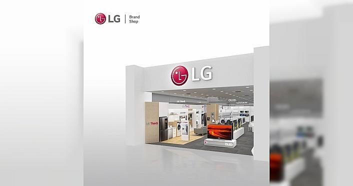 Ankara'nın En Büyük LG Brand Shop'u açıldı