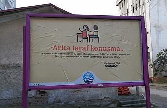 Arsin Belediyesi'nden billboardlu