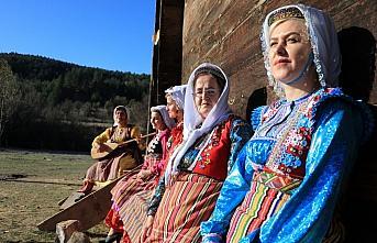 Azdavay'ın 6 asırlık yöresel kıyafetine coğrafi...