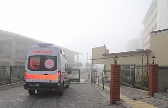 Bolu'da karantina kuralını ihlal eden 2 kişi, yolcu otobüsünde yakalandı