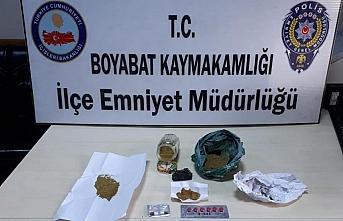 Boyabat'ta uyuşturucu operasyonunda bir kişi yakalandı
