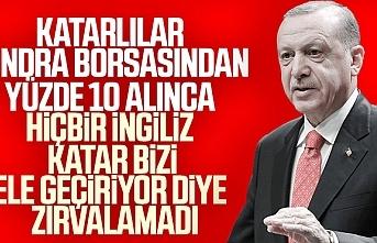 Cumhurbaşkanı Erdoğan, Katar eleştirilerine cevap verdi