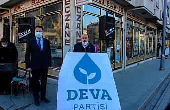 DEVA Partisi Genel Başkanı Babacan, Taşköprü'de...