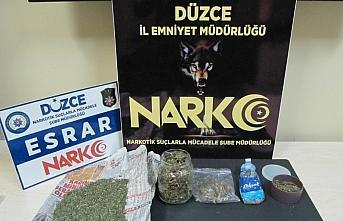 Düzce'deki uyuşturucu operasyonunda 5 şüpheli yakalandı