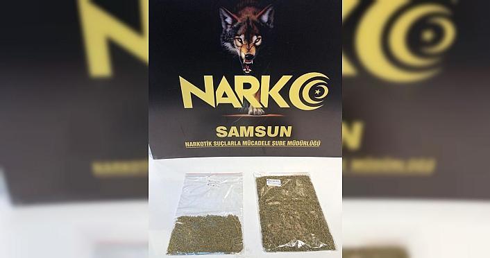 GÜNCELLEME - Samsun'da uyuşturucu operasyonlarında 2 tutuklama