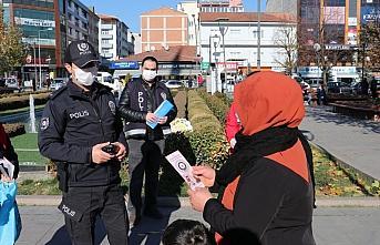 Havza'da kadına karşı şiddet ve KADES uygulaması hakkında bilgilendirme yapıldı