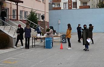 Havza'da KPSS için adaylara araç tahsis edildi