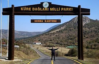 Horma Kanyonu'na ziyaretçi ilgisi