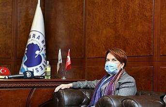 İYİ Parti Genel Başkanı Meral Akşener Trabzon'da...