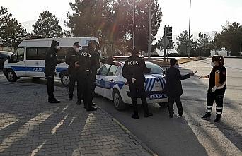 Karabük'te karantinada olması gereken kişi uygulamada yakalandı