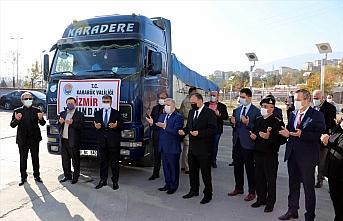Karabük'ten İzmir'e yardım eli uzandı