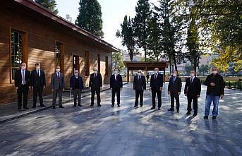 OMÜ Rektörü Ünal'dan Terme'ye ziyaret