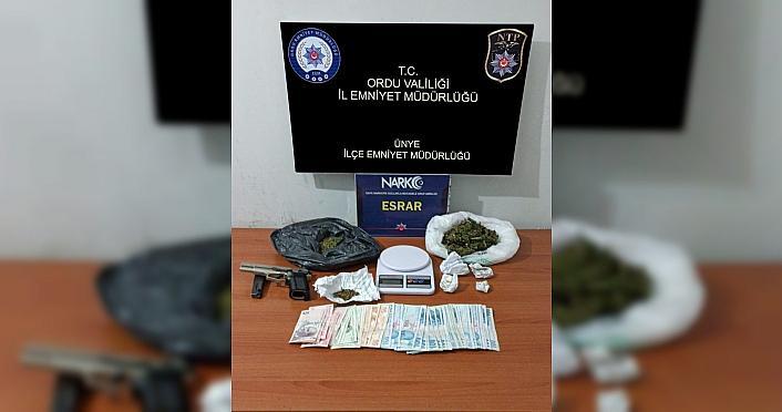Ordu'da uyuşturucu operasyonunda 2 kişi yakalandı
