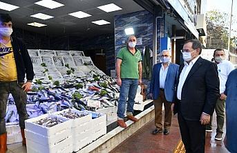 Samsun Büyükşehir Belediye Başkanı Demir, vatandaşlarla buluştu