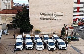 Samsun Büyükşehir Belediyesinden filyasyon ekiplerine araç desteği
