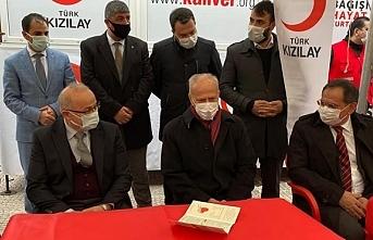 Samsun'da MHP'nin kan bağışı kampanyası...