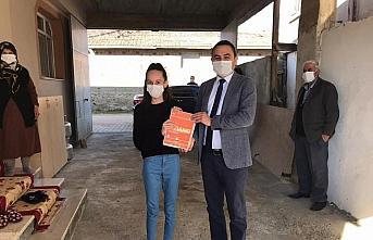 Taşköprü'de 475 öğrenciye eğitim materyali dağıtılmaya başlandı