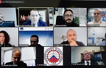 Trabzon'da iş dünyası temsilcileri ve KOBİ'ler...