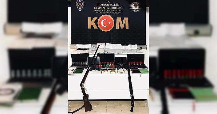 Trabzon'da tefecilik operasyonu: 8 gözaltı