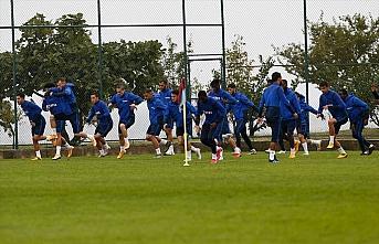 Trabzonspor'da Aytemiz Alanyaspor maçı hazırlıkları sürüyor