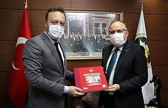 Zonguldak Valisi Tutulmaz AA Sakarya Bölge Müdürü Velioğlu'nu kabul etti