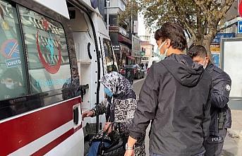 Zonguldak'ta karantina ihlali yapan kadın bankadan para çekmek isterken yakalandı