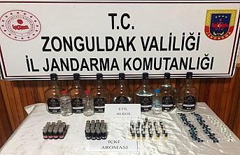 Zonguldak'ta sahte içki operasyonunda bir gözaltı