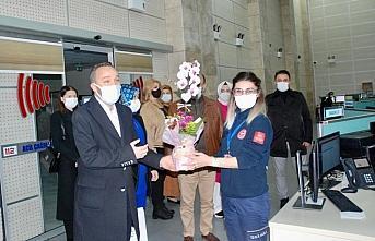 AK Parti'den 112 Acil Servis Hizmetlerine ziyaret
