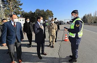 Amasya Valisi Masatlı'dan polis ve jandarma personeline...
