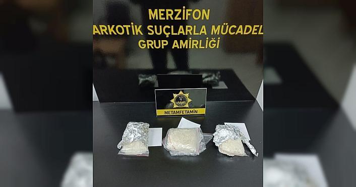 Amasya'da narkotik köpeği