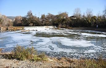 Bartın Irmağı suyunun köpürmesiyle ilgili inceleme...