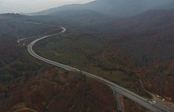 Batı Karadeniz'de hazan renkleri arasında büyüleyici...