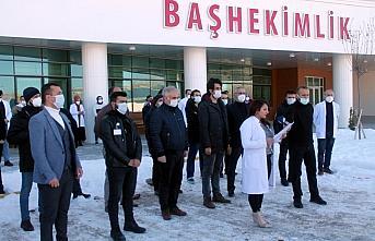 Bayburt'ta sağlık çalışanına darp iddiasıyla 2 kişi gözaltına alındı