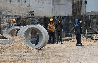 Bolu'da inşaat kazısı esnasında doğalgaz borusu zarar gördü