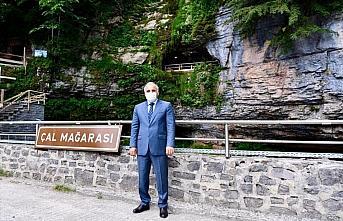 Çal Mağarası 11 ayda 182 bin turiste ev sahipliği yaptı