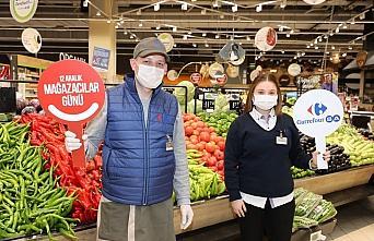 CarrefourSA 11 bin çalışanı ile Mağazacılar...