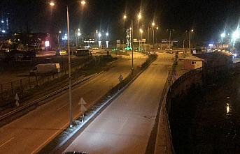 Doğu Marmara ve Batı Karadeniz'de sokağa çıkma kısıtlamasının başlamasıyla sokaklar boşaldı