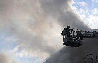 Düzce'de ekmek fırınında çıkan yangın söndürüldü