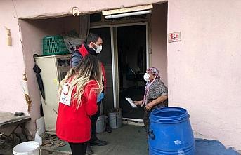 Düzce'de Vefa Sosyal Destek ekiplerinin çalışmaları...