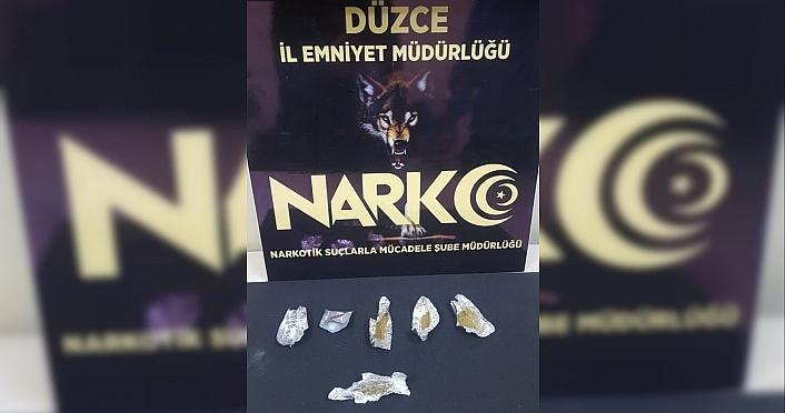 Düzce'deki uyuşturucu operasyonları