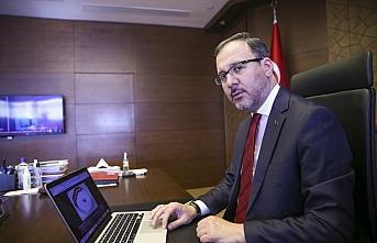 Gençlik ve Spor Bakanı Mehmet Muharrem Kasapoğlu, AA'nın