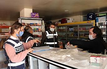 Havza'da kaçak alkol ve bandrol denetimi yapıldı