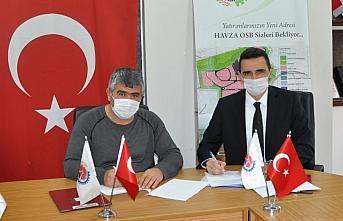 Havza'da TSO ile Halkbank arasında protokol