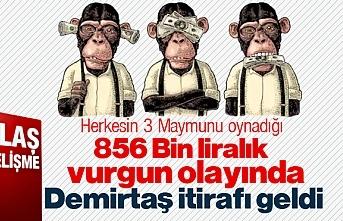 İlkadım Belediyesi'nde ki 856 Bin Liralık Vurgun olayında Demirtaş itirafı