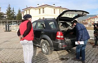 İstanbul'da çekiciyle çalınan cip Bolu'da bulundu