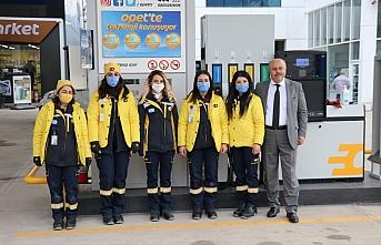 Karabük OPET istasyonunda 5 kadın çalışan istihdam...