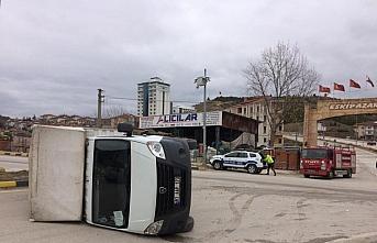 Karabük'te cip ile kamyonet çarpıştı: 2 yaralı